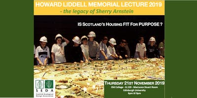 Is Scotland's Housing Fit for Purpose? ECO-MAX 5 6pm Thur 21 Nov, Edinburgh