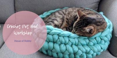 Crochet Pet Beds Workshop