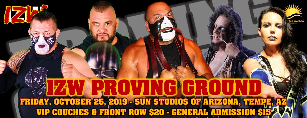 Impact Zone Wrestling presents Proving Ground