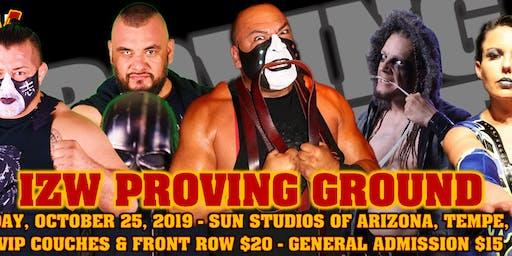 Impact Zone Wrestling presents Proving Ground