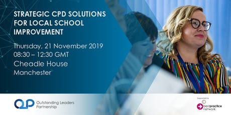 Strategic CPD solutions for local school improvement tickets