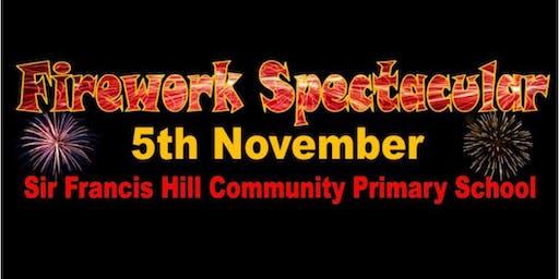 Firework Spectacular @ Sir Francis Hill