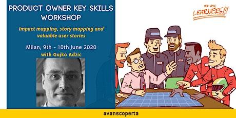 Product Owner Key Skills 2020 - Gojko Adzic biglietti