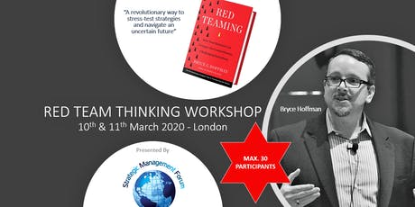 RED TEAM THINKING WORKSHOP tickets