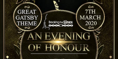 'An Evening of Honour' Black Tie Gatsby Dinner tickets