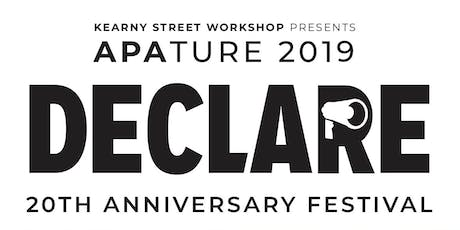 APAture 2019 Closing Reception and Artist Talk tickets
