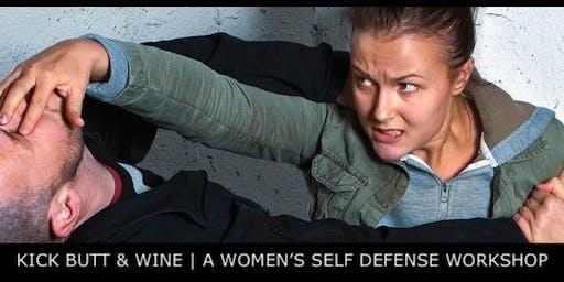 Kick Butt & Wine | A Women's Self Defense Workshop