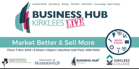 Kirklees Business Hub Live tickets