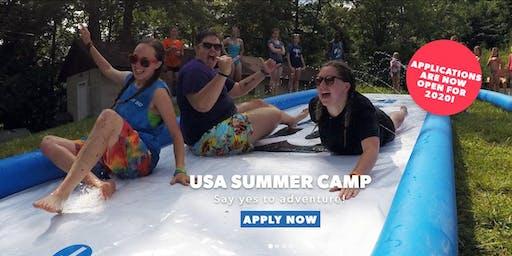 USA Summer Camp  Talk