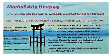 Martial Arts Horizons tickets