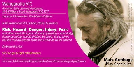 Dodgy Risky Dangerous Play in Wangaratta  tickets
