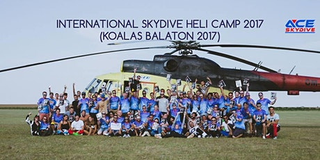 International Skydive Heli Camp 2020 tickets