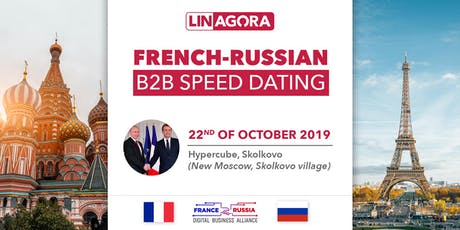 French-Russian B2B speed dating tickets