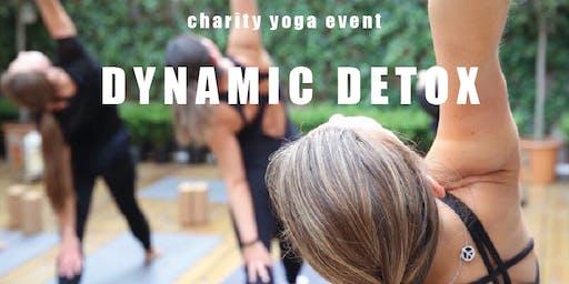 Dynamic Detox, Charity Yoga Class