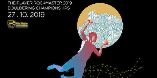 The Player RockMaster Bouldering Championships 2019