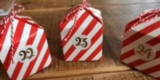Make your own chocolate advent calendar