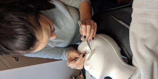 Classic eyelash extensions training