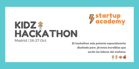 Kidz Hackathon de Startup Academy tickets