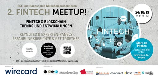 2. FINTECH MEETUP:  Fintech & Blockchain - Keynotes, Panels  & Get Together