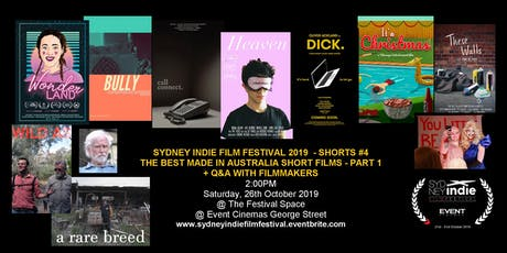 Sydney Indie Film Festival 2019 – Made in Australia Short Films Part 1 tickets
