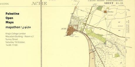 Palestine Open Maps Mapathon:  King's College London tickets