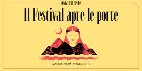 L'ange de Nisida - martedì 22 ottobre - Prove aper biglietti
