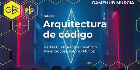"""Taller """"Arquitectura de código"""" entradas"""