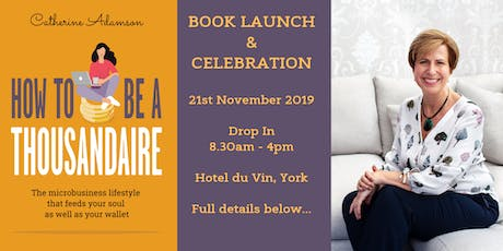 Book Launch - How To Be a Thousandaire tickets
