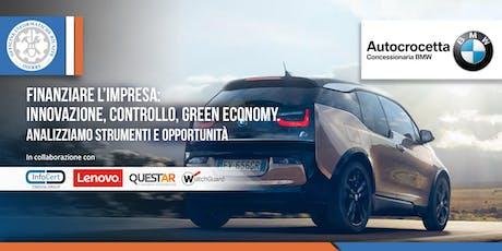 Finanziare l'impresa: innovazione, controllo, green economy. biglietti