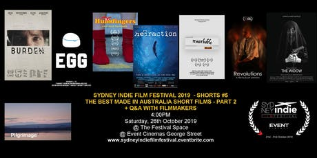 Sydney Indie Film Festival 2019 – Made in Australia Short Films Part 2 tickets