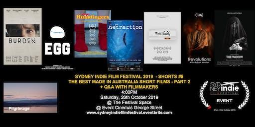Sydney Indie Film Festival 2019 – Made in Australia Short Films Part 2