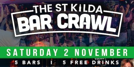 St Kilda Bar Crawl - Halloween Edition tickets