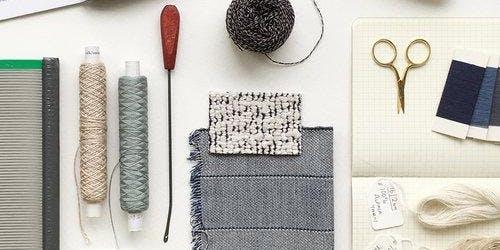 Material Exploration in Weaving 08.08.2020