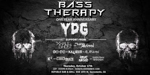 Bass Therapy 1 Year Anniversary W/ YDG & More!