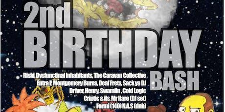 Burns Manor Records 2nd Birthday Bash tickets
