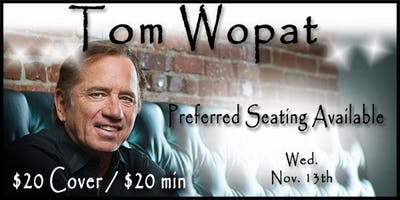 Tom Wopat 11/13 - Wednesday's With Wopat