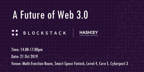 A Future of Web 3.0 - Decentralized Internet is Here tickets