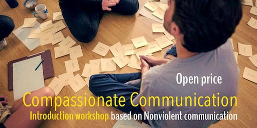 Introduction workshop on NonViolent Communication (mainly English)