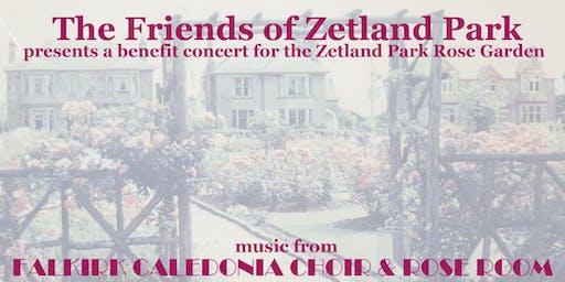 Zetland Park Rose Garden Benefit Concert