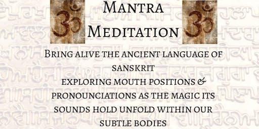 Mantra meditation immersion