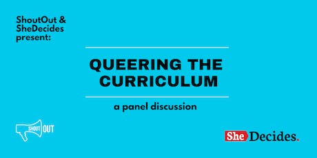 Queering The Curriculum tickets