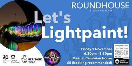 Let's  Lightpaint! tickets