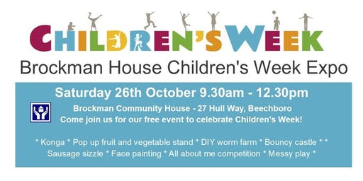 Brockman House Children's Week Expo