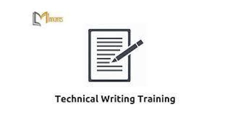 Technical Writing 4 Days Virtual Live Training in The Hague tickets