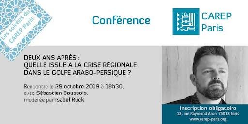 Rencontre avec Sébastien Boussois