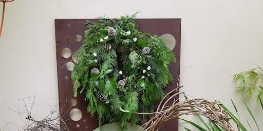 Rustic Wreath Making with Julie Dart