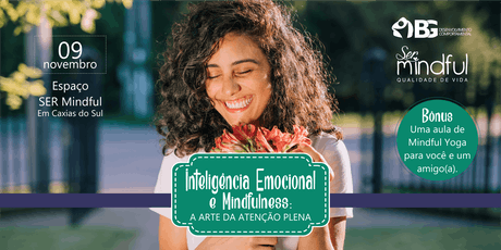 Workshop Inteligência Emocional & Mindfulness ingressos