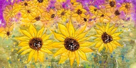 'Felting & Flowers' - Felt Picture Making Workshop  tickets