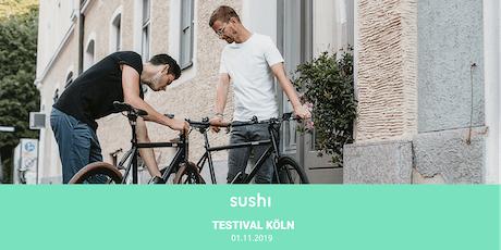 SUSHI Bikes Testival – Köln Tickets