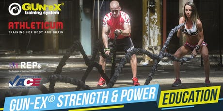 GUN-EX® | Strength & Power Foundation Certification Pre-Reg| Limerick tickets
